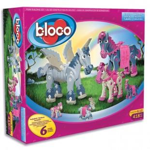 Bloco - Chevaux et licornes
