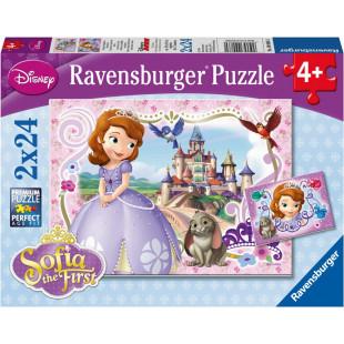Ravensburger - Casse-tête L'aventure royale de Sofia 2 x 24 pièces