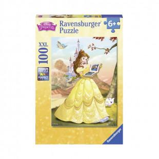 Casse-tête - Disney Belle lit un conte de fées Puzzle de 100 pièces