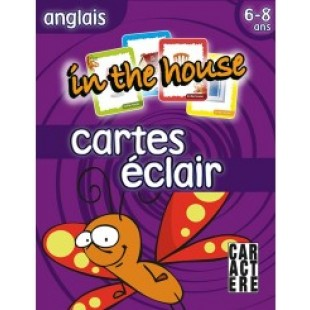 Cartes éclair Anglais -  In the house