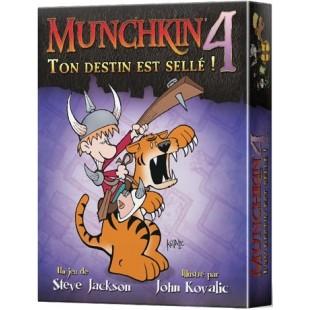 Munchkin 4 - Ton Destin est Sellé