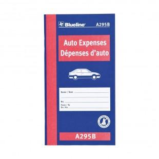 Blueline - Dépenses d'auto (A295B)