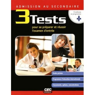 Admission au secondaire 3 test (CEC)