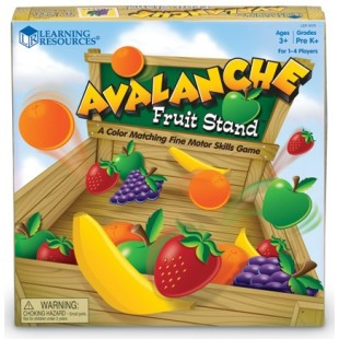 Learning resources - Avalanche de fruits