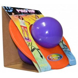 Ballon sauteur Pogo - Orange-mauve