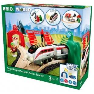 Brio - Circuit de voyageurs et locomotive intelligente