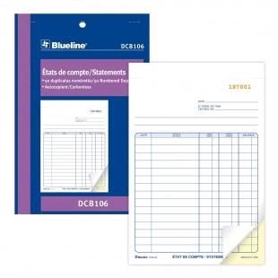Blueline - États de compte (DCB106) 2 copies
