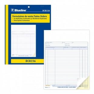 Formulaire de vente (DCB156) 2 copies