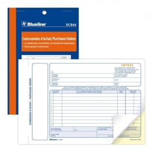 Blueline - Commandes d'achats (DCB66) 2 copies