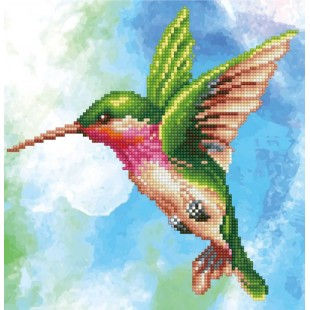 Diamond Dotz - Colibri miniature magic 36 X 37 cm