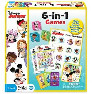 Disney junior - jeux 6 en 1
