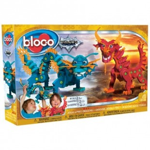Bloco - Dragons Aqua et Pyro