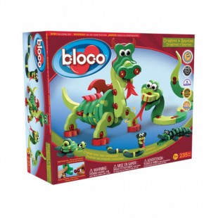 Bloco - Dragons et reptiles