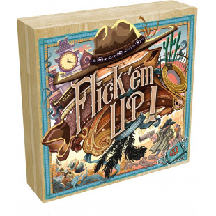 Flick'Em Up - Coffret en Bois