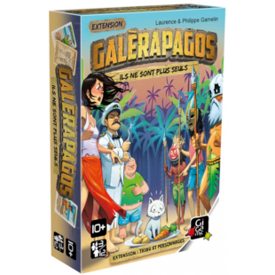 Galèrapagos - Extension Tribu et personnages