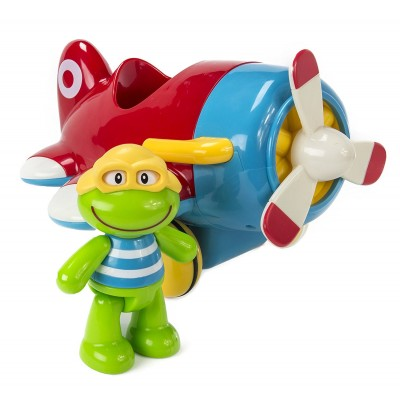 ELC - Grenouille Frankie avec son avion