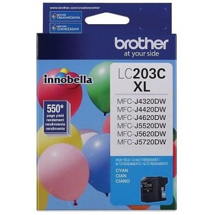 Cartouche d'encre Brother LC203XL Cyan