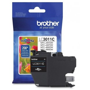 Cartouche d'encre Brother LC3011 Cyan