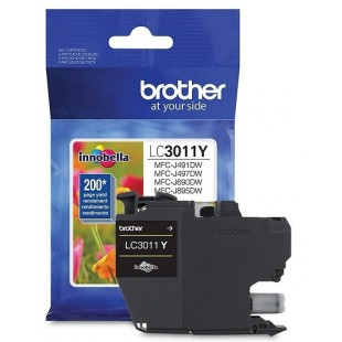 Cartouche d'encre Brother LC3011 Jaune