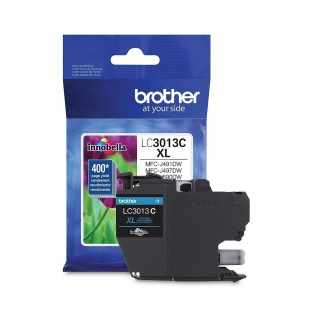 Cartouche d'encre Brother LC3013C XL Cyan