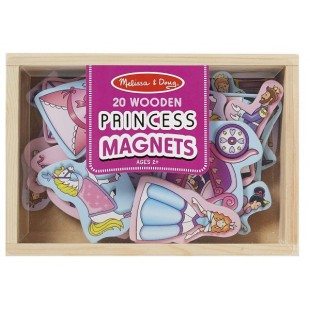Melissa & Doug - Aimants en bois - Princesse