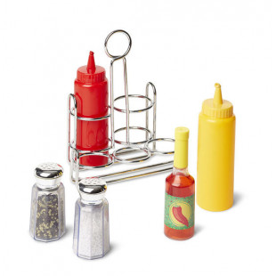 Ensemble de condiments