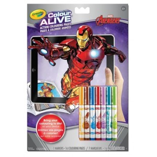 Crayola - Pages à colorier animées Avengers