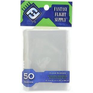 Fantasy Flight - Protège cartes (sleeves) pqt 50 (57 X 89MM)